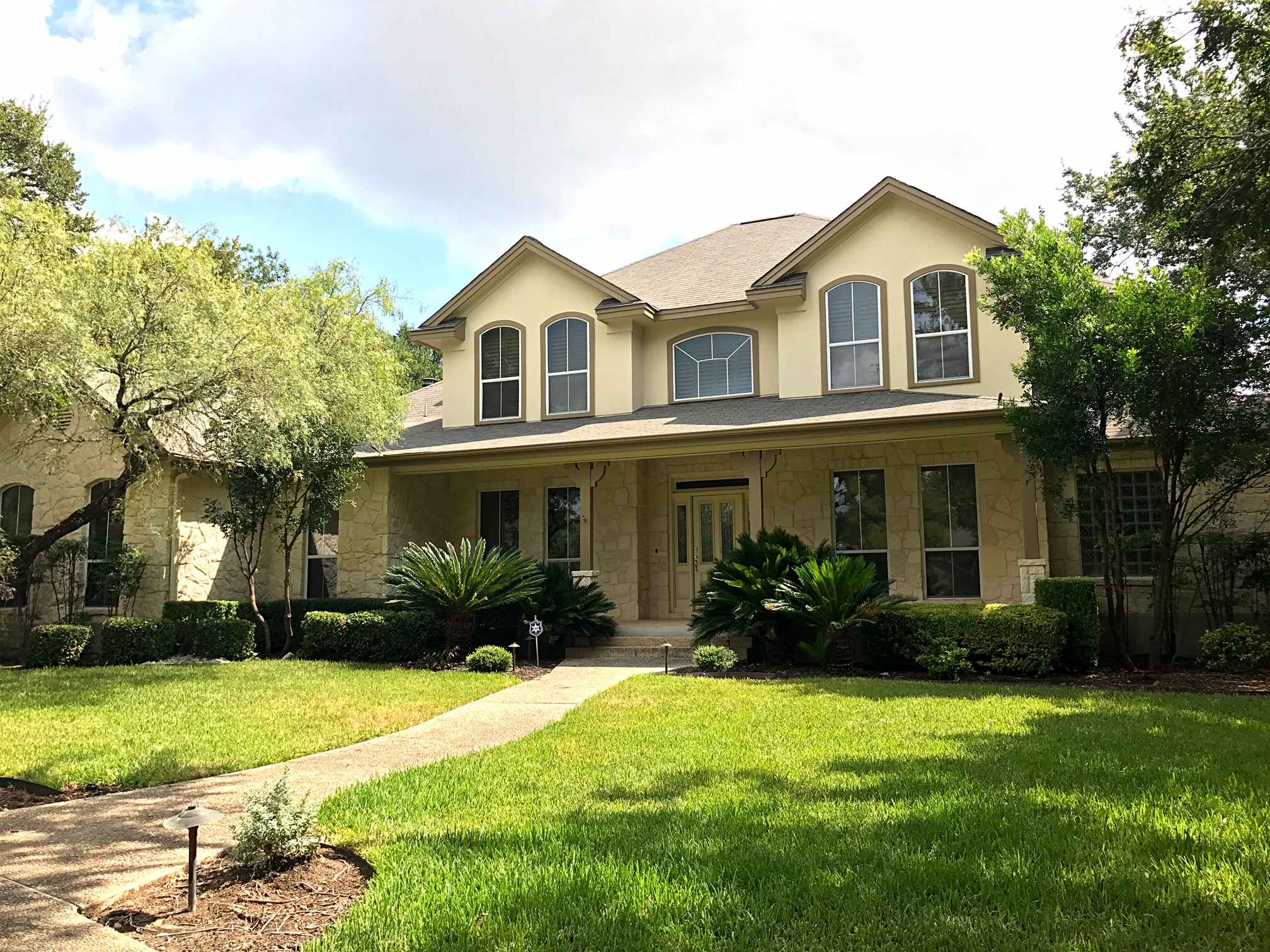 exterior summer house painting san antonio